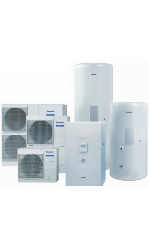 Тепловой насос воздух-вода Panasonic AQUAREA T-CAP 12 кВт