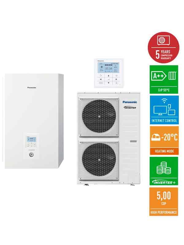 Panasonic AQUAREA T-CAP 16 кВт тепловой насос воздух-вода